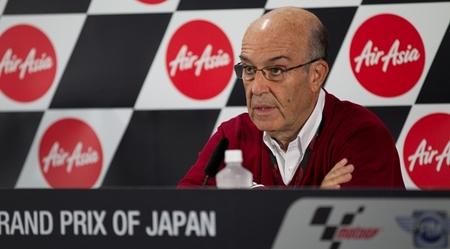 """Carmelo Ezpeleta sobre Michelin: """"Sí, están afectando al campeonato, pero estamos contentos con ellos"""""""