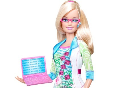 Barbie ingeniera informática