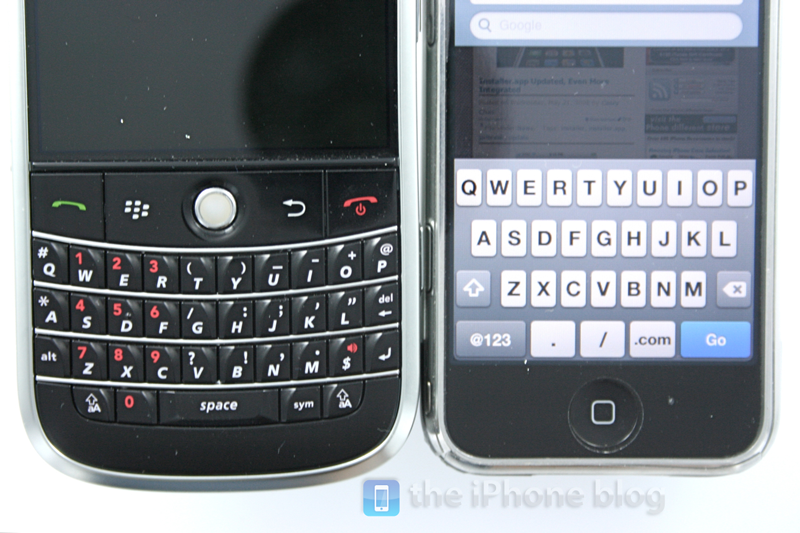 Foto de BlackBerry Bold vs iPhone (14/17)