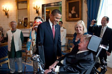 Hawking y Obama