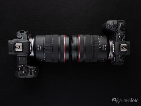 Canon EOS R vs Canon EOS RP