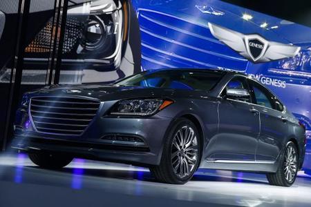 Auto Show de Detroit 2014: Hyundai Genesis