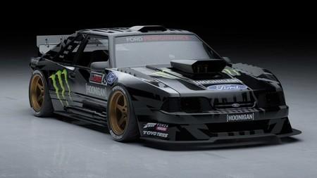La próxima diablura de Ken Block se llamará Hoonifox: un Ford Mustang Fox-Body absolutamente demencial