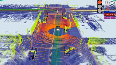 El mapa digital: láseres y cámaras para crear la brújula del coche autónomo
