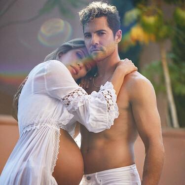 Los posados prepapás más sexys de David Bisbal y Rosanna Zanetti