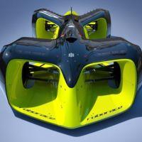 Este es el espectacular aspecto de los bólidos de Roborace, la competición con coches autónomos