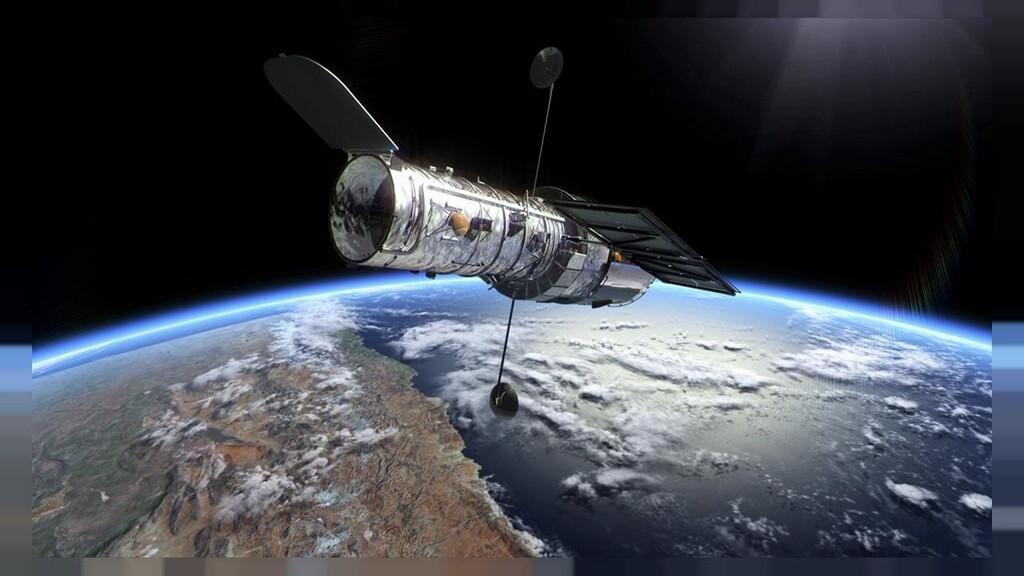 El telescopio Hubble sigue dando alegrías con una espectacular prueba visual de que la masa puede curvar la luz