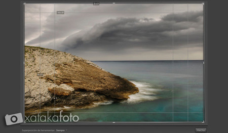 proporciones en lightroom 5