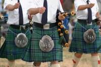 Los juegos de las Tierras Altas en Escocia
