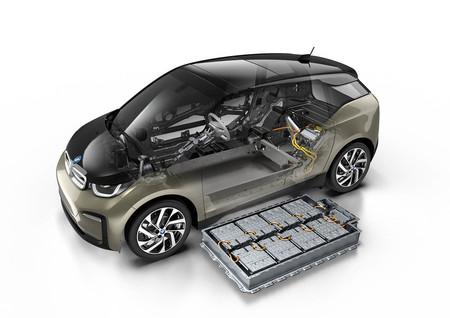 BMW i3 arquitectura baterías
