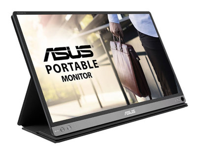 Asus se atreve en el CES 2018 con un compacto y reducido monitor portable: el ZenScreen Go MB16AP