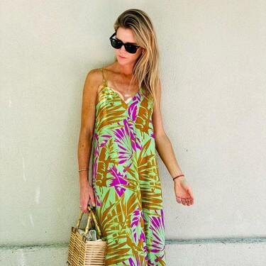 Este es el vestido de Zara que luce Amelia Bono por el que todas suspiramos este verano