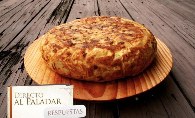 Pregunta tortilla patata