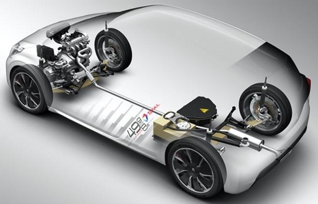 Peugeot 208 HYbrid FE detalles técnicos