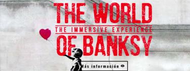 """""""El Mundo de Banksy: una experiencia inmersiva"""" llega a Barcelona para hacernos entrar, una vez más, en su obra"""