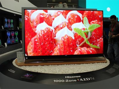 Hisense también quiere competir con OLED y para ello propone esta espectacular tele QLED con 1056 zonas de iluminación independientes