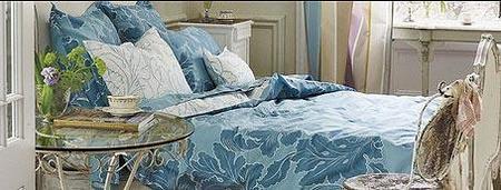 Decoración de lujo en azul