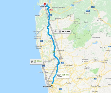 Corredor Espana Portugal