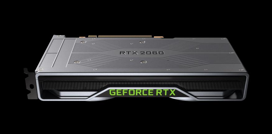 Nueva Nvidia RTX 2060: más potente que la GTX 1070 Ti pero por solo 349 dólares