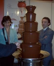 Fuente de chocolate para golosos