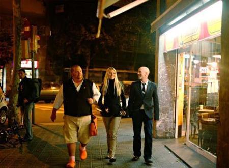 ¡Gwyneth Paltrow anda suelta por Barcelona!