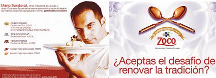 """VI Concurso Zoco de Jóvenes Cocineros, """"Cocina de Autor Tradicional Renovada"""""""