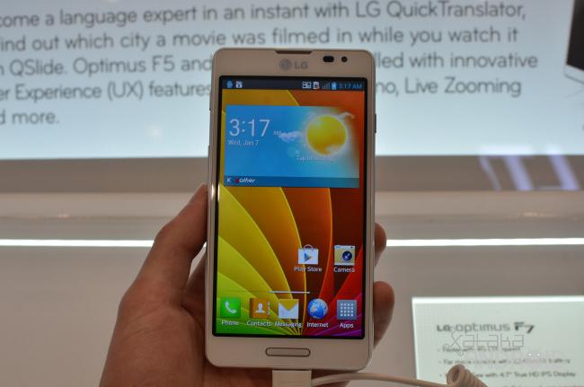 Foto de LG Optimus F5 y F7 (1/17)