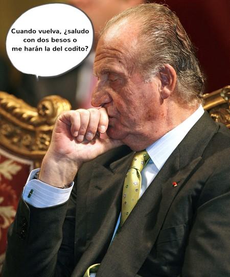 Sofía, ve sacando la cama supletoria, que Juan Carlos se nos planta en España en cuestión de horas