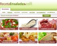 Todas las recetas de ensaladas en un sitio social