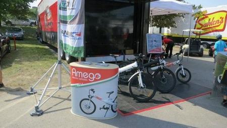 Amego muestra sus bicicletas eléctricas inspiradas en Ferrari