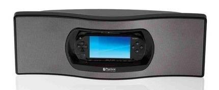 Nodus Psyclone, dock con altavoces para la PSP