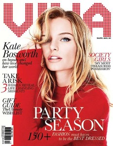 ¡Qué viva Kate Bosworth y qué viva su portada!