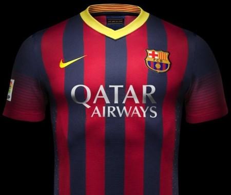 La nueva camiseta del F.C. Barcelona 2013-2014