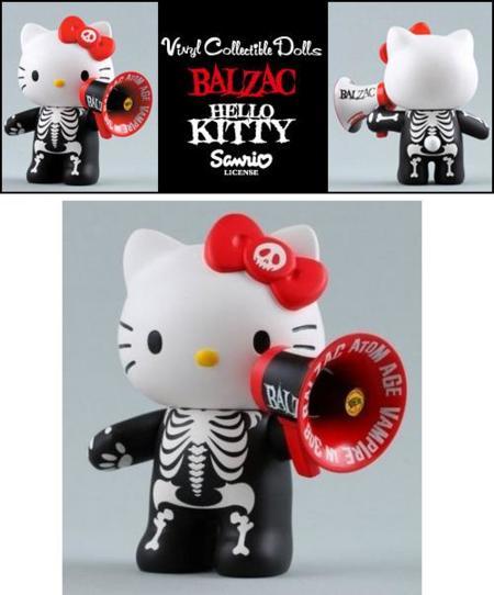 Figura de Hello Kitty, una colaboración de Balzac y Medicom