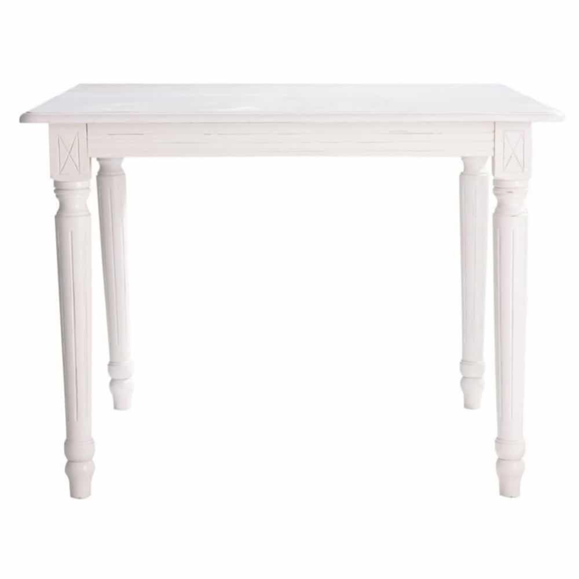 Mesa de comedor extensible de 4 a 8 personas blanca An. 100/180 cm Descripción 499,00 €