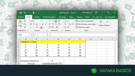 Las 17 fórmulas de Excel esenciales para empezar y
