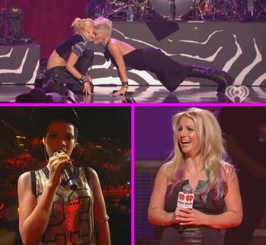 Llegó el iHeartRadio Music Festival: ¡primer día de celebrities musicales!
