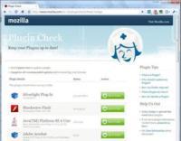 Mozilla abre Plugin Check para todos los navegadores