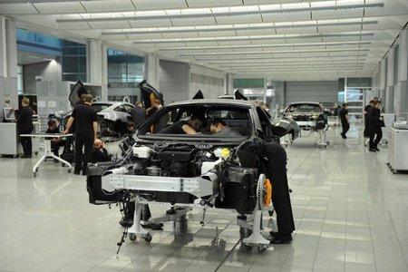 McLaren abrirá su nueva fábrica en mayo