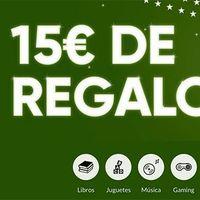 Hasta el 7 de diciembre, Fnac te devuelve 15 euros en un cupón por cada 100 euros de compra online