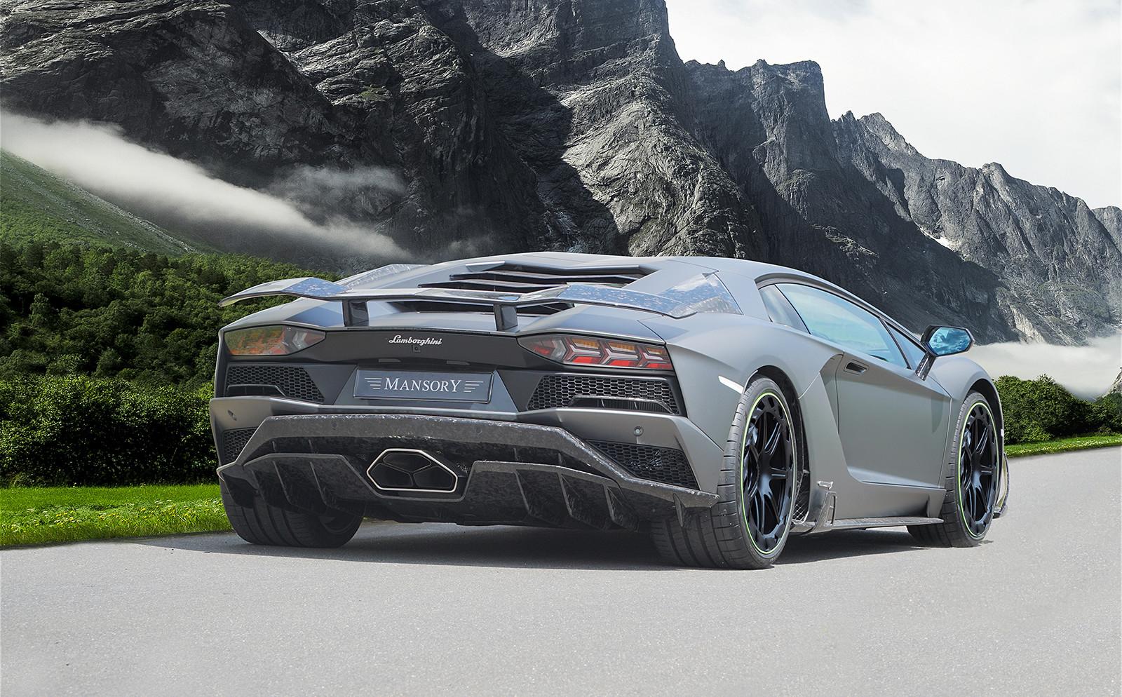 Foto de Lamborghini Aventador S Mansory (8/8)