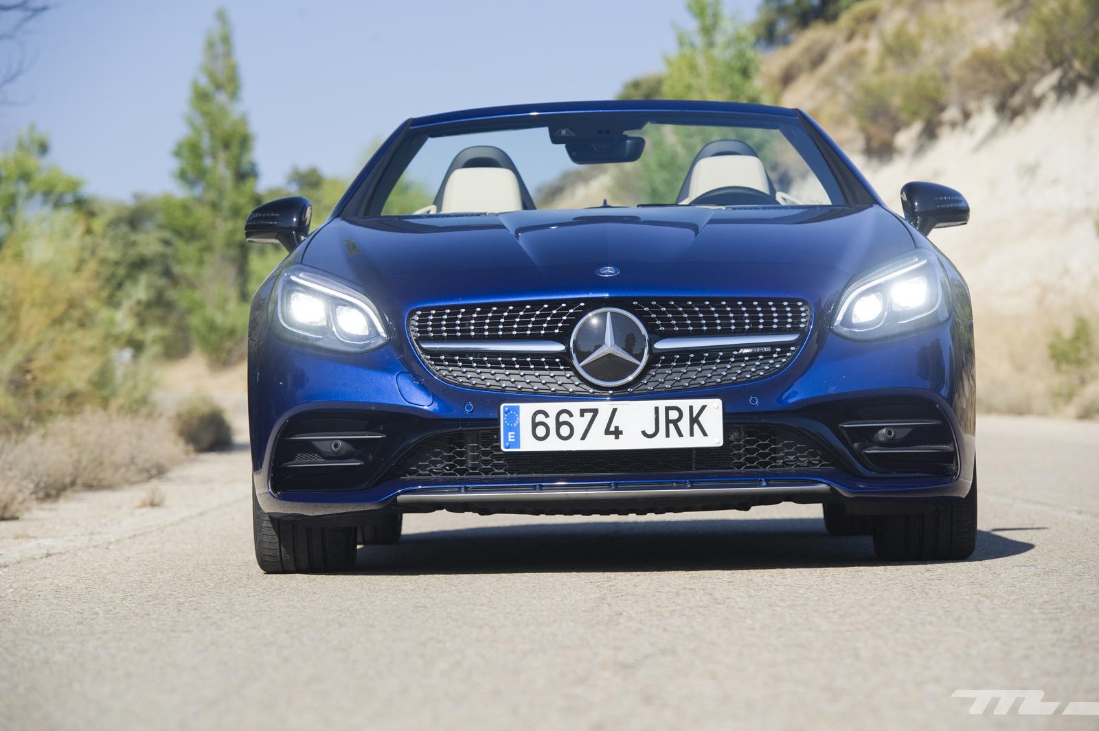 Foto de Mercedes-AMG SLC 43, prueba (8/33)