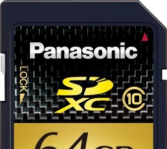 Panasonic pone a la venta sus tarjetas SDXC de alta capacidad