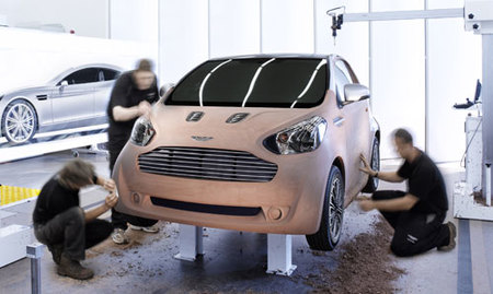 Aston Martin Cygnet Concept, el Toyota iQ de lujo