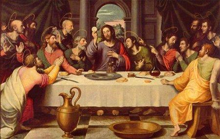 La última cena de Jesús de Nazaret