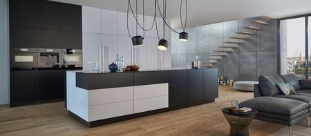 Siete sistemas de apertura prácticos y silenciosos para un mobiliario de cocina