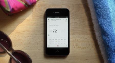 Google trata de imitar a Siri con notables mejoras en su motor de búsqueda por voz en iOS