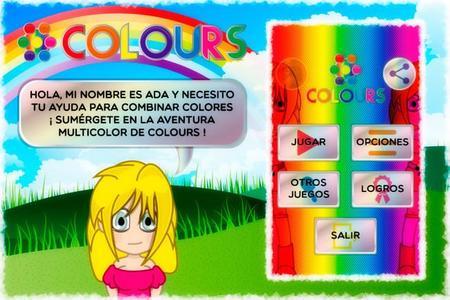 Colours, un juego de habilidad, rapidez y destreza
