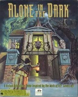Portada del Alone in the Dark de 1992