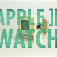 Olvídate del Apple Watch: constrúyete un retro-prodigioso Apple ][ Watch